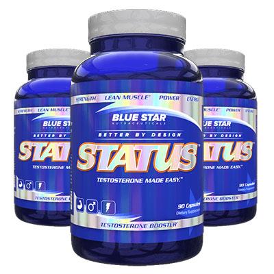 Blue Star Status 3 Bottles
