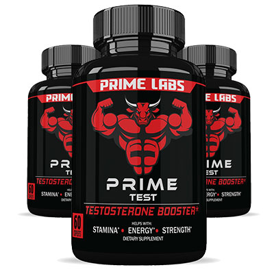 3 bottles of Prime Test by Prime Labs