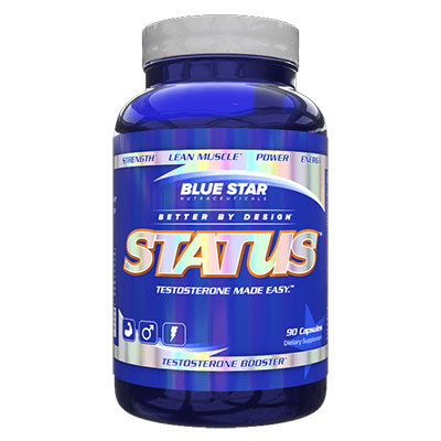Blue Star Status Bottle
