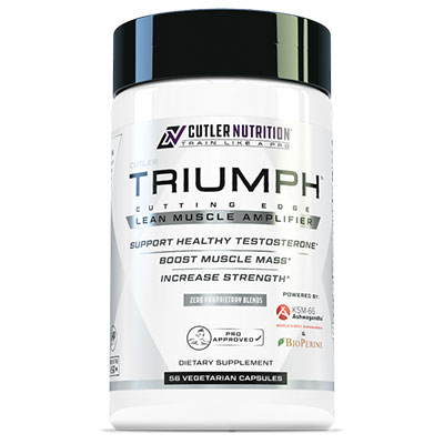 Cutler Nutrition Triumph Bottle