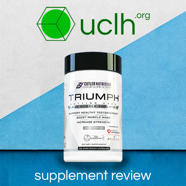 Cutler Nutrition Triumph Review