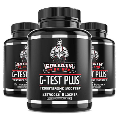 G-Test Plus 3 Bottles