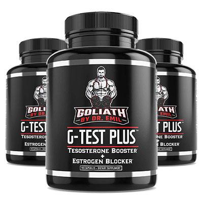 G-Test Plus 3 Bottles