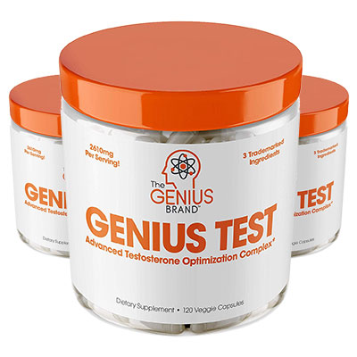 3 Tubs of Genius Test