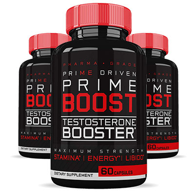 3 Bottles Prime Driven Prime Boost