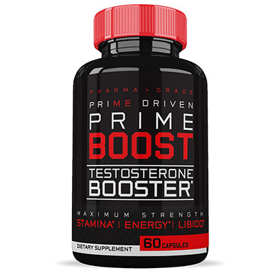 Prime Driven Prime Boost Bottle