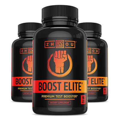 Zhou Boost Elite 3 Bottles