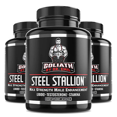 3 Bottles of Goliath Steel Stallion