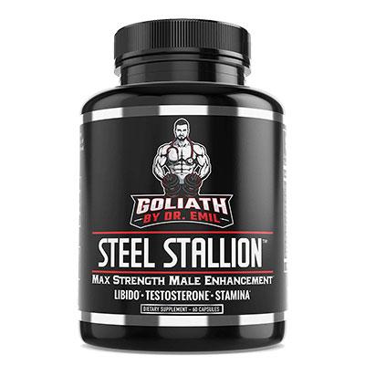 Goliath Steel Stallion Bottle