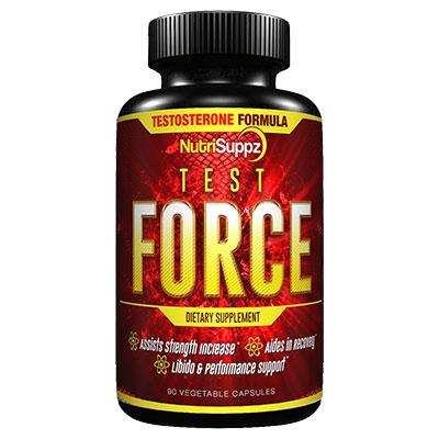 NutriSuppz Test Force Bottle