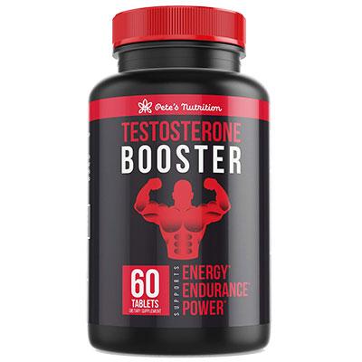Pete's Testosterone Booster Bottle