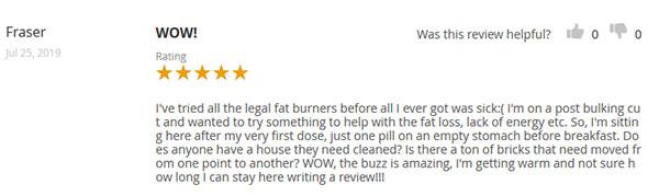 Alpha Lean 7 Customer Reviews