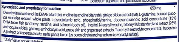 Focus Factor Ingredients - Nutrients