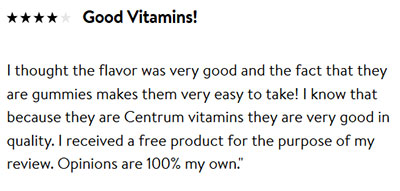 Centrum Women Gummies Reviews