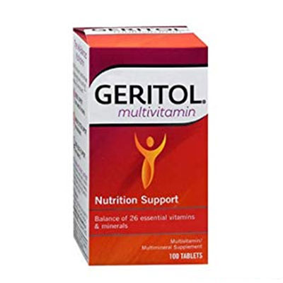 Geritol Multivitamin Review