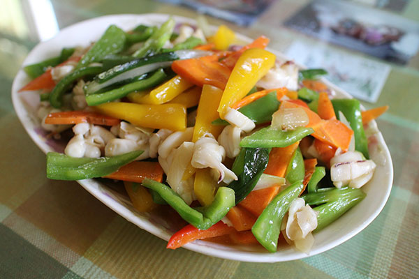 Keto Chinese Food: Steamed Vegetables