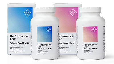 Performance Lab Whole Food Multivitamin