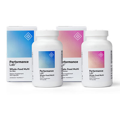 Performance Lab Whole Food MultiVitamin Review