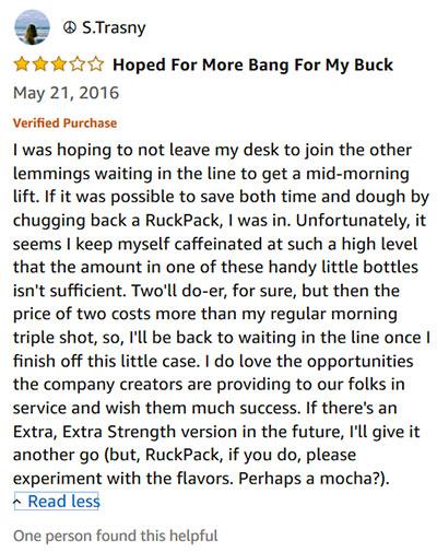 RuckPack Honest Review