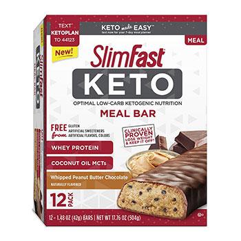 Slim Fast Keto Bars