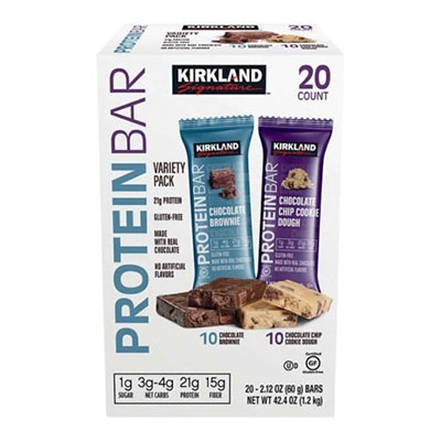 Kirkland Signature Protein Bar Gas